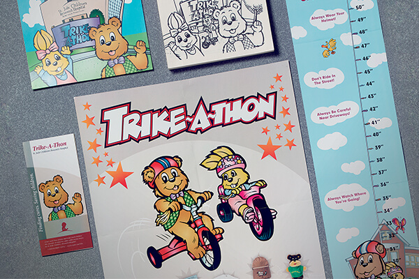 Trike-A-Thon materials, created by Counterpart