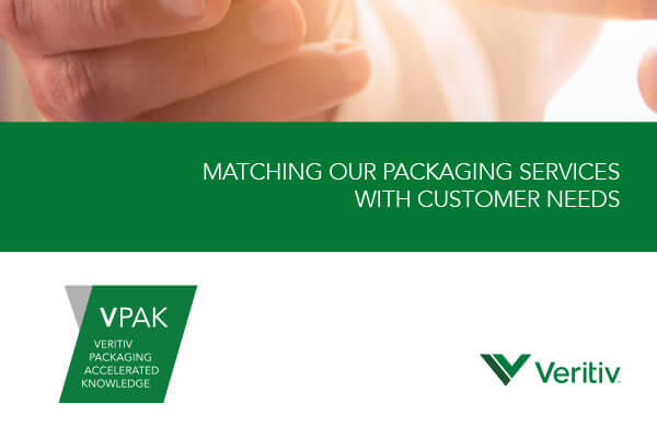 Veritiv VPAK materials, created by Counterpart